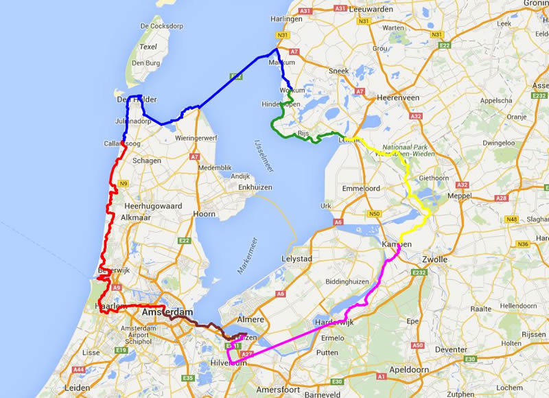 Holland cycle holliday tour